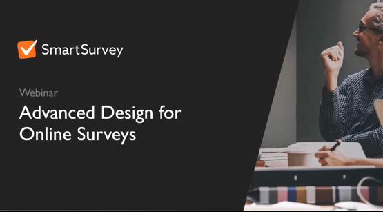 Advanced Survey Design Landing Page